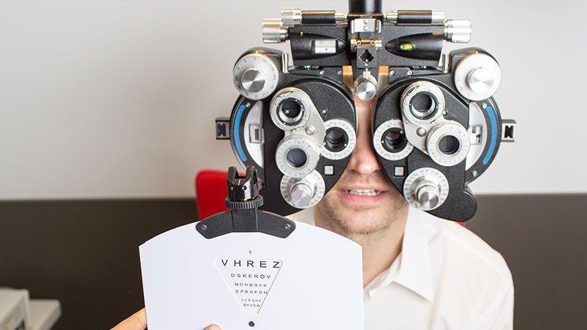 eye examination Hong Kong